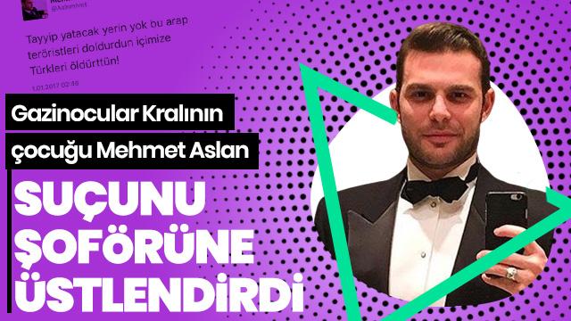 Mehmet Aslan'ın şoförüne 'suç üstlenme' davası