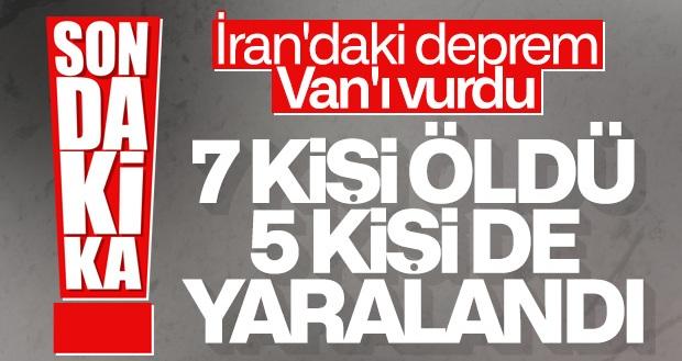 Van'da 7 kişi hayatını kaybetti