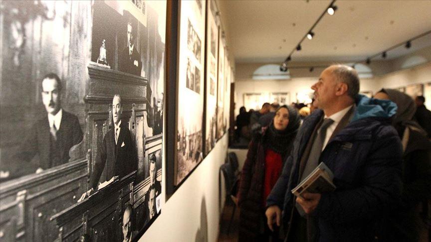'İlk Adımdan Kuruluşa Milli Mücadele Karma Sergisi' Erzurum'da açıldı
