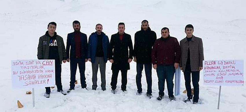 Erzurum Ülkü Ocakları'ndan anlamlı etkinlik