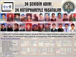 24 şehit Erzurum'da yaşatılacak