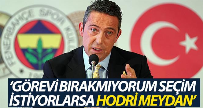 """Ali Koç: """"Genel Kurul'a gidelim' derlerse önlerini kapamayız"""""""