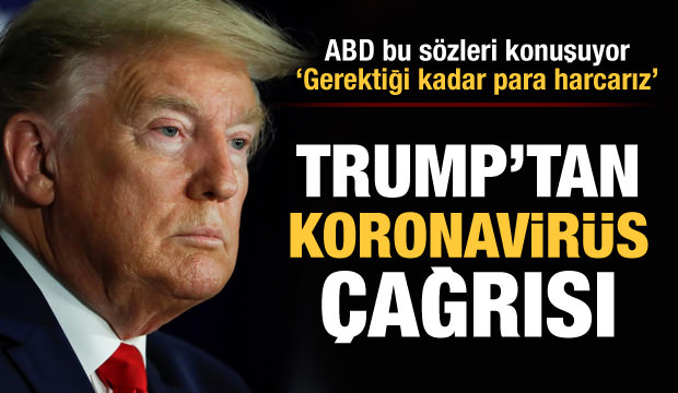 Trump'ın elindeki Kovid-19 (koronavirüs) kağıdında Türkiye detayı