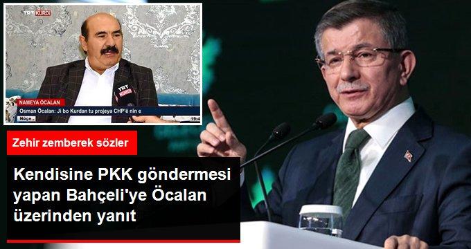 """Bahçeli'nin """"Serok Ahmet'in PKK özlemi"""" sözlerine Davutoğlu'ndan yanıt geldi"""