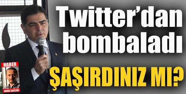 Cinisli, Twitter'dan bombaladı
