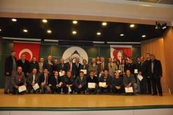 ETSO'da sertifika töreni