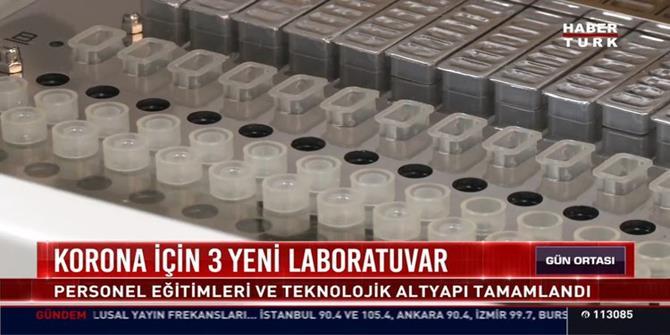 Koronavirüs tespiti için 5 ilde viroloji laboratuvarları oluşturuldu!