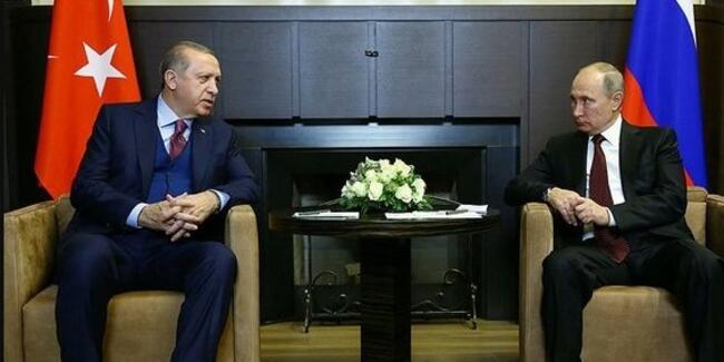 İdlib'deki alçak saldırı sonrası Cumhurbaşkanı Erdoğan ve Putin telefonda görüştü