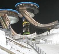 Erzurum FIS yarışlara hazırlanıyor