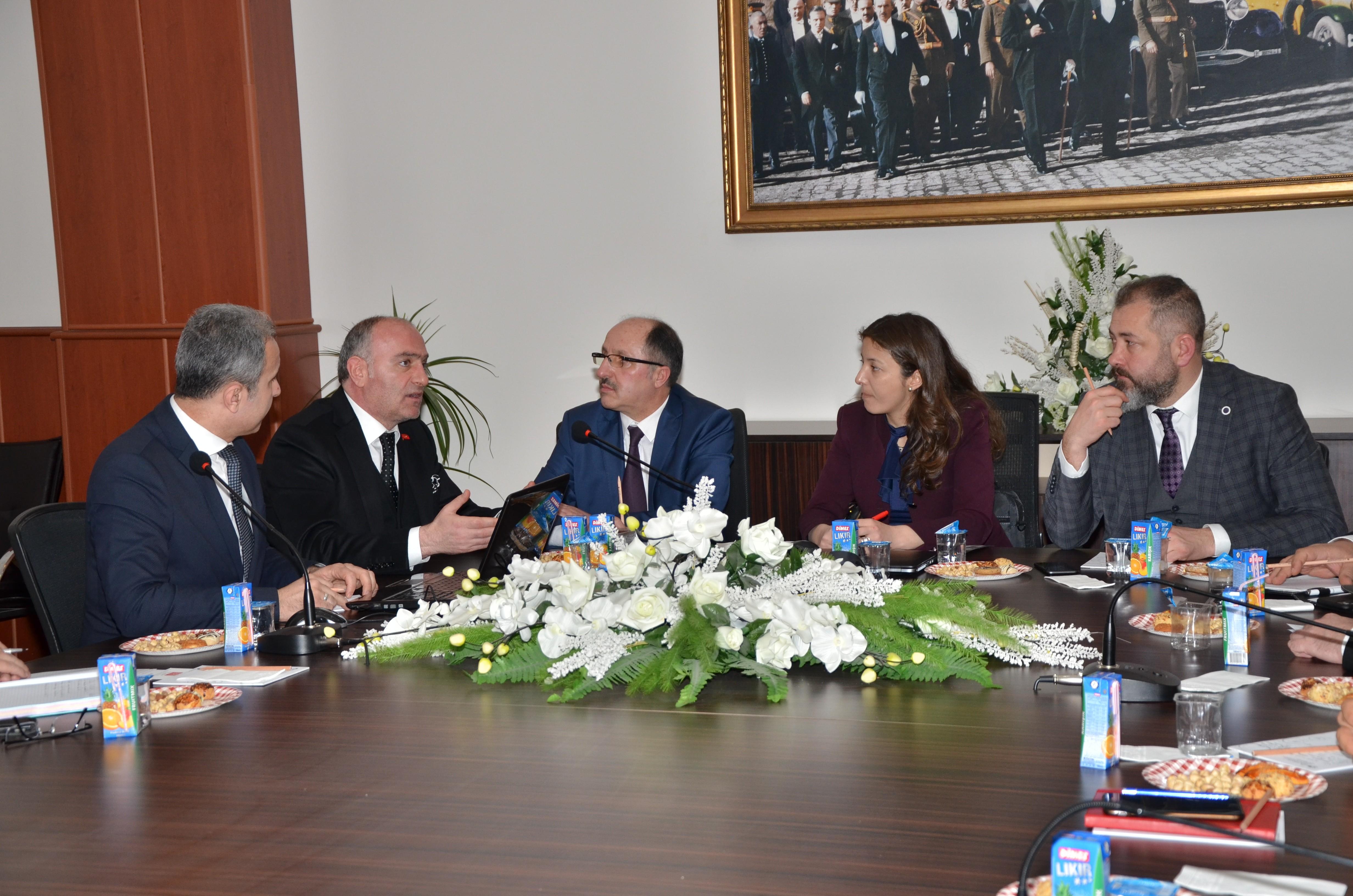 Erzurum'da KÜSİ toplantısı düzenlendi