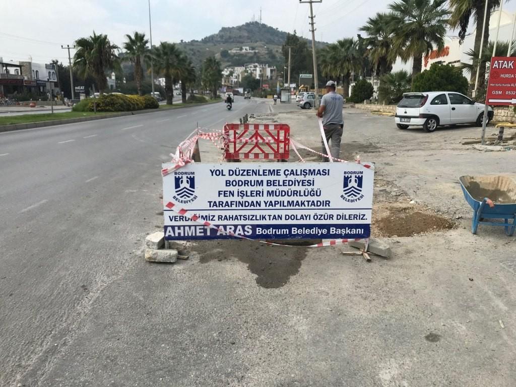 Başkan Aras: Bodrum yolları, sezona kadar hazır olacak