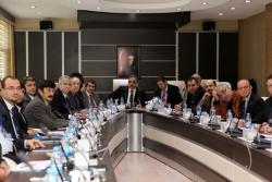Diş'in dekanları Erzurum'da toplandı