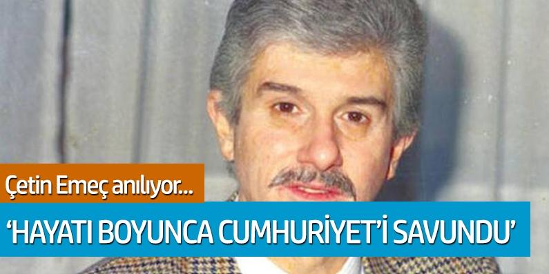Bilge Emeç: Hayatı boyunca Cumhuriyeti ve Atatürk'ü savundu