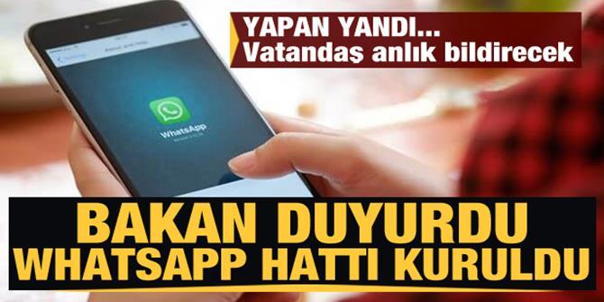 WhatsAp hattı kuruldu... Gıdada yeni dönem vatandaş anlık bildirecek