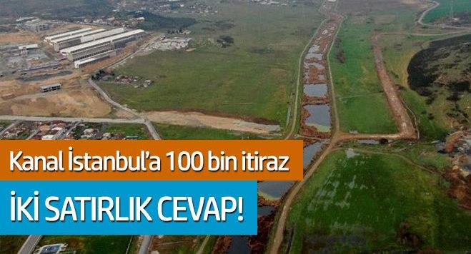 Kanal İstanbul'a 100 bin başvuru! İki satırlık cevap