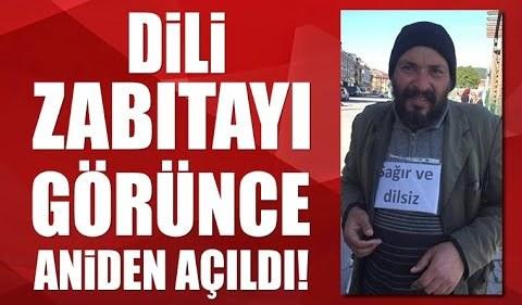 İstanbul'da dilencinin oyununu zabıta ortaya çıkardı