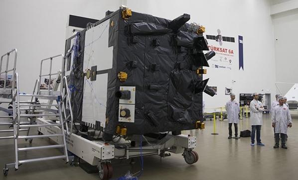 Türkiye'nin ilk yerli ve milli uydusu Türksat 6A'da yeni aşama