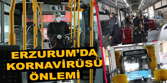 Erzurum'da Kornavirüsü önlemi