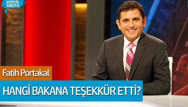 Fatih Portakal'dan Fahrettin Koca'ya corona virüs teşekkürü