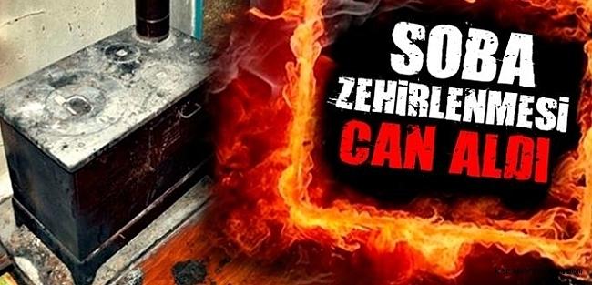 Erzurum'da Sobadan sızan gazdan zehirlendiler: 1 ölü