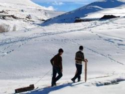 Erzurum'da kayağın belgeseli