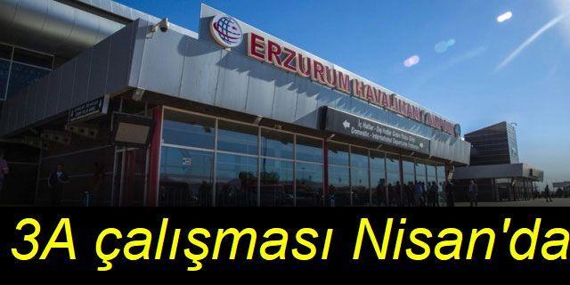 """Erzurum Havalimanı'nda sis nedeniyle uçuş iptallerine """"CAT 3A""""lı çözüm"""