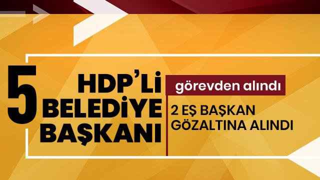 HDP'li Batman, Silvan, Lice, Ergani ve Eğil belediyelerine kayyum atandı