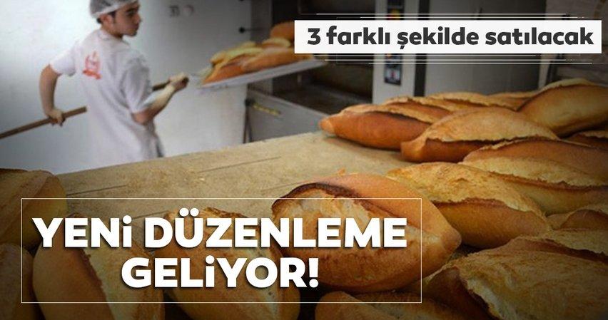 Ekmek satışlarına yeni düzenleme geliyor!