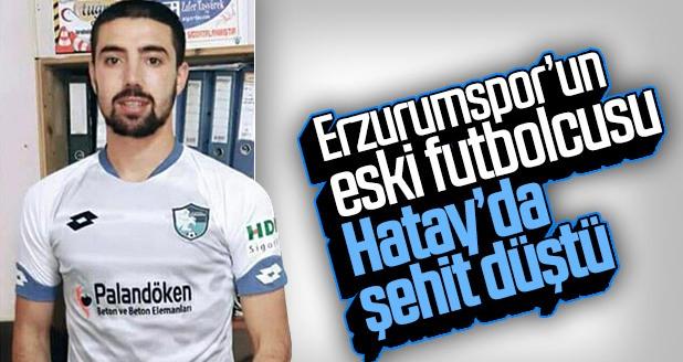 Erzurumsporlu genç futbolcu şehit düştü