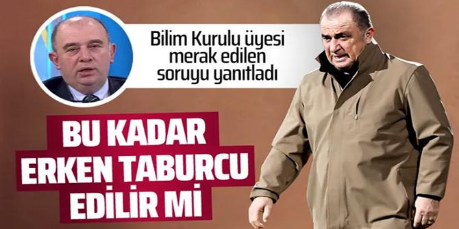 Prof. Dr. Ateş Kara, Fatih Terim'in taburcu olmasını yorumladı