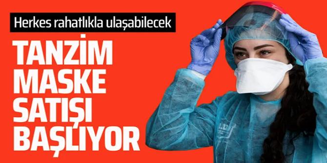 'Tanzim' maske satışı başlıyor! Bakan Pekcan duyurdu