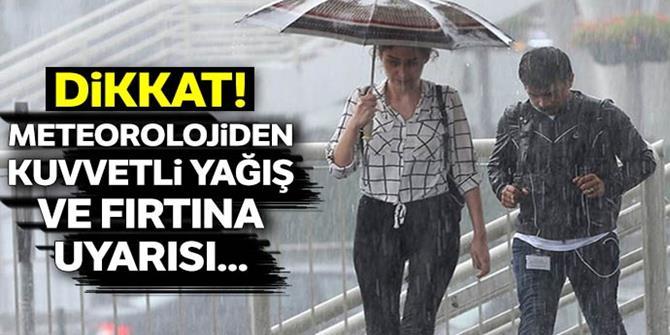 Doğu Anadolu'da gece saatlerinden itibaren yağmur bekleniyor
