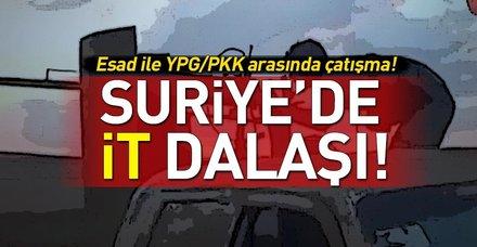 Esed rejimi Kamışlı'da YPG'yle çatıştı