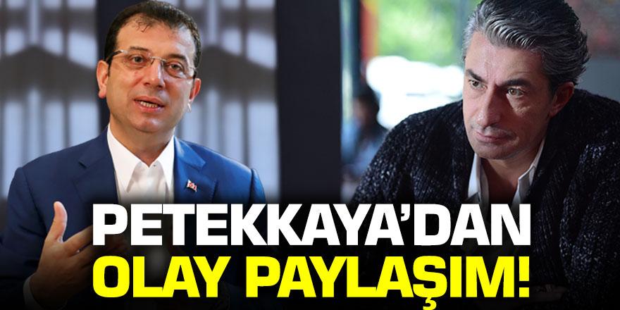 Erkan Petekkaya'dan İmamoğlu'na olay sözler