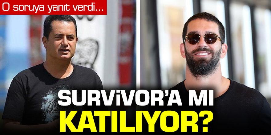Arda Turan o soruya yanıt verdi: Survivor'a katılacak mı?