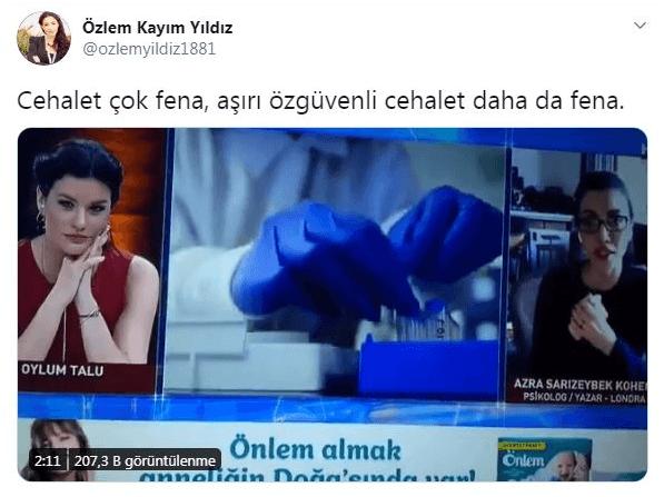 Habertürk'te Azra Kohen'den skandal virüs yorumu! Nöroloji profesörü yerin dibine soktu