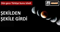 En görkemli Ay tutulması!