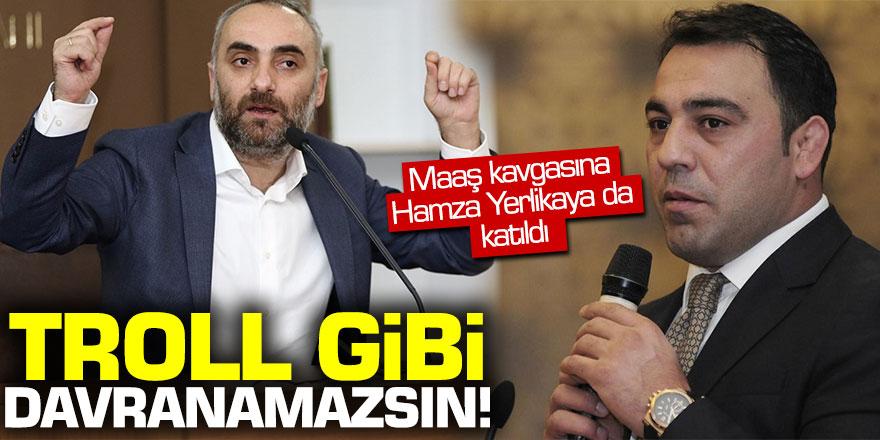 İsmail Saymaz ile İsmail Cesur arasındaki maaş kavgasına Hamza Yerlikaya da katıldı