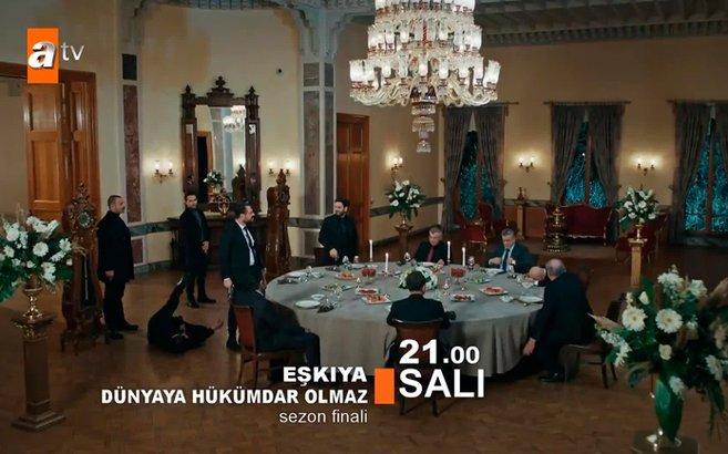 Eşkıya Dünyaya Hükümdar Olmaz 165. yeni bölüm sezon finali fragmanı yayınlandı!