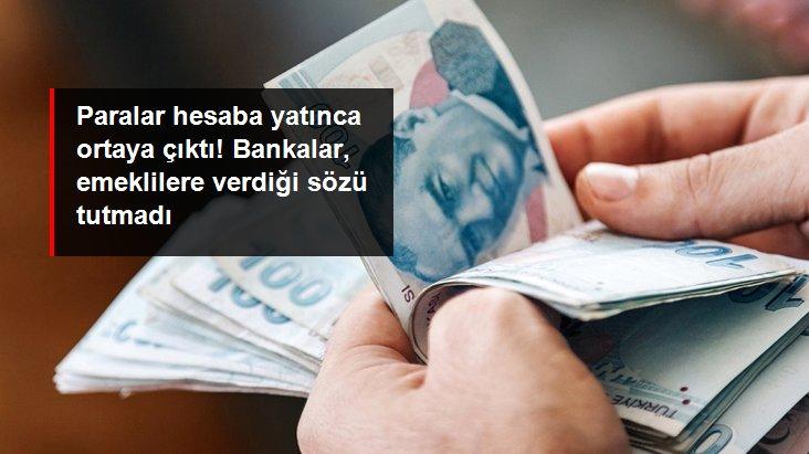 Emeklilere büyük şok! Bankalar vaat ettikleri promosyonun yarısını hesaplara yatırdı