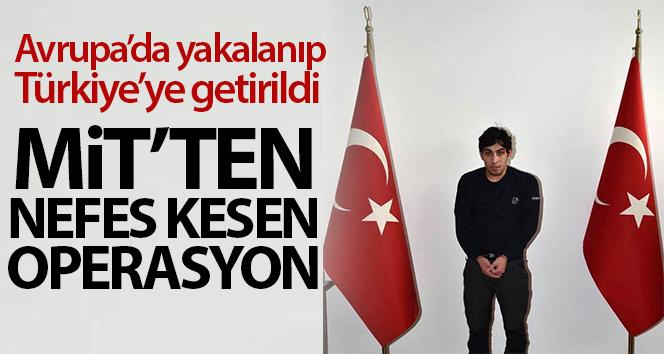 PKK'nın sözde gençlik sorumlusu MİT'in operasyonuyla yakalandı