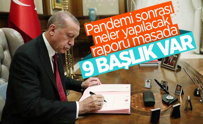 Erdoğan'a normale dönüşte tedbirler hakkında rapor