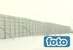 Kar ve tipiye perdeli çözüm