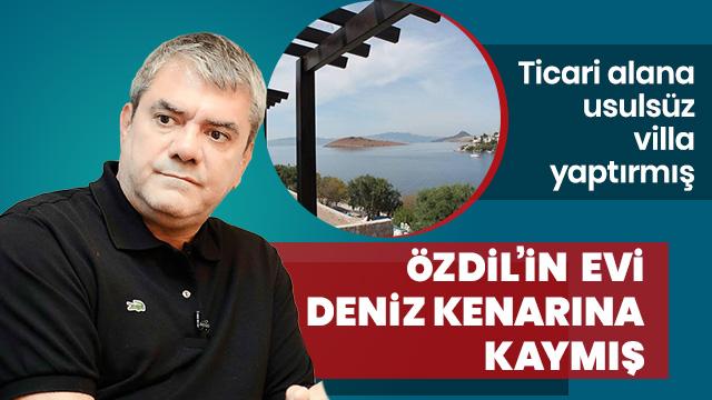 Yılmaz Özdil'in villasındaki skandal gün yüzüne çıktı!