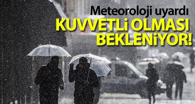 Doğu Anadolu'da gök gürültülü sağanak yağış