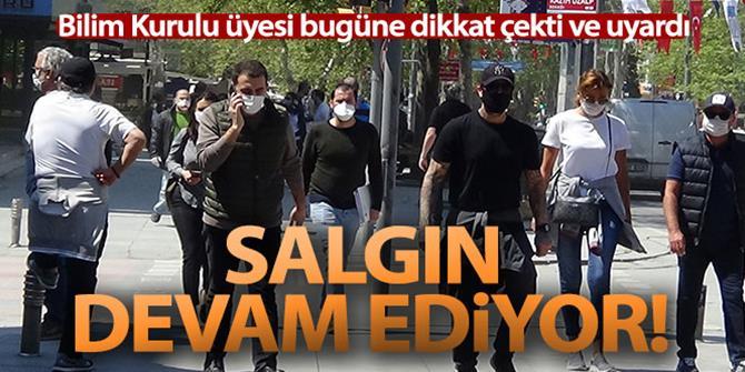 Bilim Kurulu Üyesi Prof. Dr. Tevfik Özlü: 'Salgın bitmedi devam ediyor'