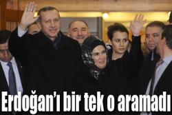 Erdoğan'ı bir tek o aramadı!
