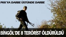 8 PKK'li öldürüldü