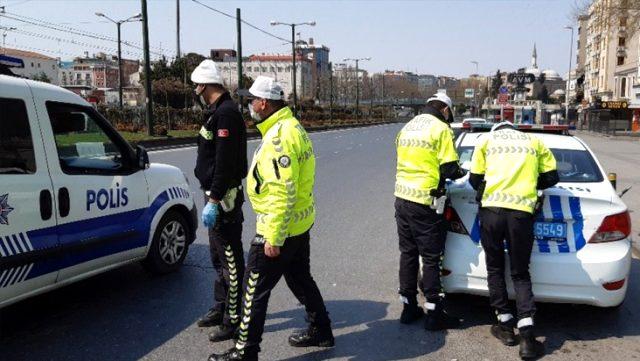 2 günlük sokağa çıkma yasağında 13 bin 716 kişiye ceza kesildi