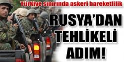 Askerlerini Türkiye sınırına gönderdi!